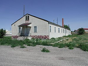 Camp Douglas (Wyoming) - Officer's Club from 1943