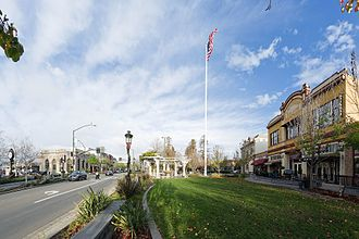 Livermore, California - Downtown Livermore