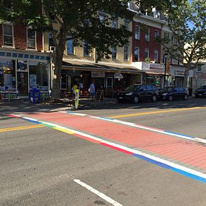 Nyack, New York - Main Street in Downtown Nyack