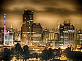 Downtown Sao Paulo at night. (9552475788).jpg
