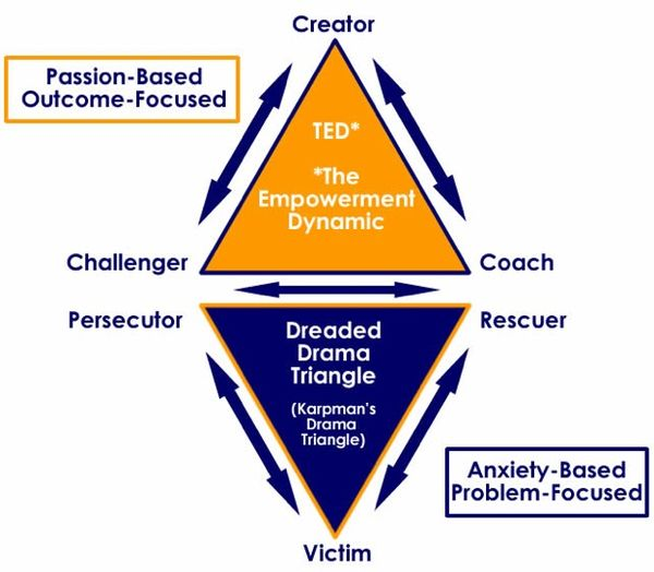 Social analysis triangle model