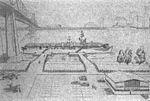 Drawing of proposed USS Cabot (CVL-28) museum at New Orleans 1990.jpg