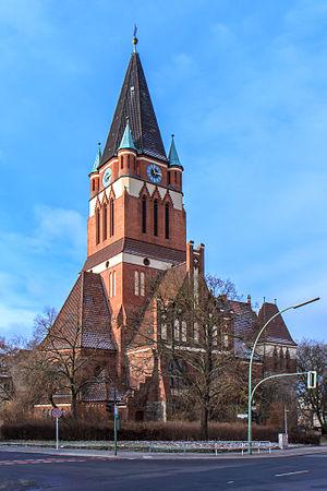 Lankwitz - Evangelical Dreifaltigkeitskirche