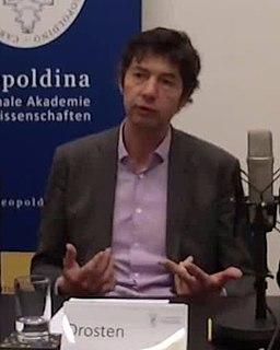 Christian Drosten German virologist researching emergent viruses
