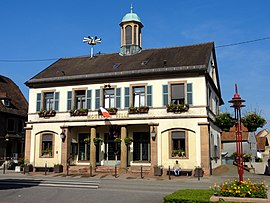 The town hall in Drusenheim