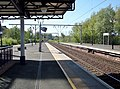 Dumbarton Central on the North Clyde and West Highland Lines. View towards Cardross from Platform 2.jpg
