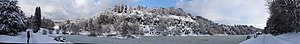 Dundas Castle - Dundas Loch in the Winter