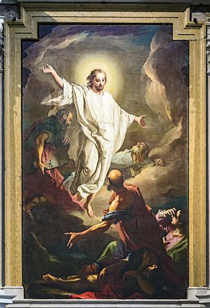 Giambettino Cignaroli - Transfiguration of Christ - Verona Cathedral