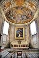 Duomo di viterbo, interno, coro dei canonici, con affreschi di giuseppe passeri 01.jpg