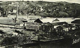 Rive-de-Gier - Duralumin factory
