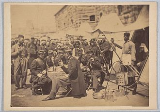 5th New York Volunteer Infantry - Duryea Zouaves, Regimental Mess, Fort Schuyler, May 18, 1861