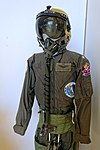 Dusty Showen flight suit - Evergreen Aviation & Space Museum - McMinnville, Oregon - DSC00689.jpg