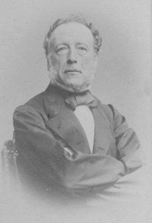 Albertus Jacobus Duymaer van Twist - Albertus Jacobus Duymaer van Twist in 1861