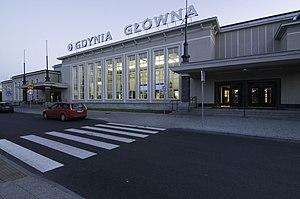 Gdynia Główna railway station - Gdynia Główna railway station