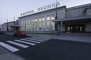 Gdynia Główna railway station