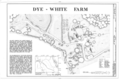 Dye-White Farm, County Road 244, Heardmont, Elbert County, GA HABS GA,53-HEAR.V,2- (sheet 1 of 1).png