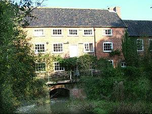 River Ainse (or Eyn) - Eade's Mill on the River Ainse(Eyn)