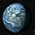Earth from Space with Stars (6143809369).jpg