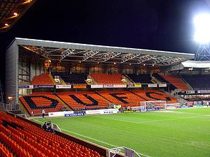 2016–17 Scottish Championship - Image: East Stand Tannadice