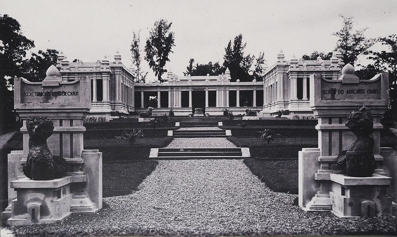 File:Ecole Francaise dExtreme Orient Section des Antiquites Chames en Tourane..jpg