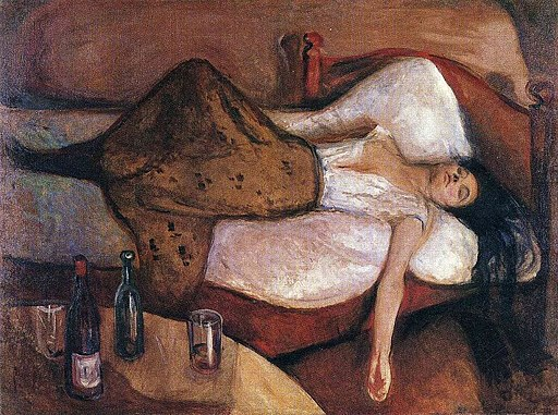 Edvard Munch-The Day After
