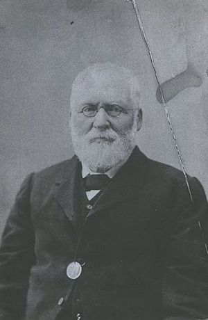 Mayor of Dunedin - Edward Bowes Cargill was the son of provincial founder Captain William Cargill.