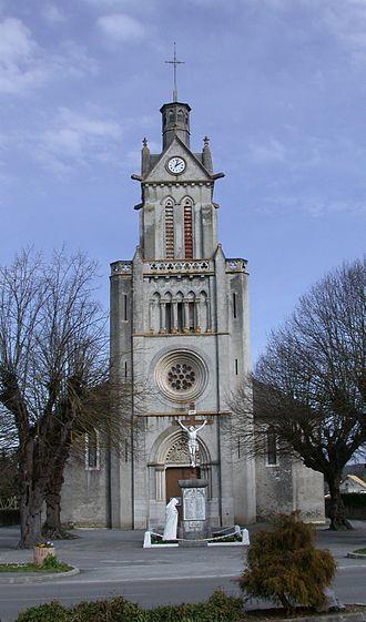 Assat - The church of Assat
