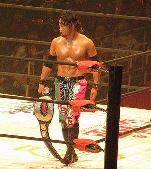 Eita Kobayashi - Eita as the Open the Brave Gate Champion in November 2016