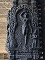 Ekambareswarar Temple Kanchipuram Tamil Nadu - Parvati relief as yogini.jpg