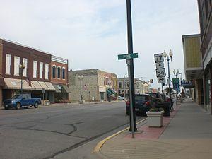 El Dorado, Kansas - Image: El Dorado Kansas Pine Main Intersection