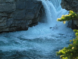 Elbow Falls - Elbow Falls is popular with kayakers