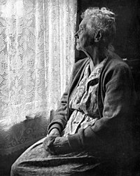 Elderly Woman, B&W image by Chalmers Butterfield.jpg