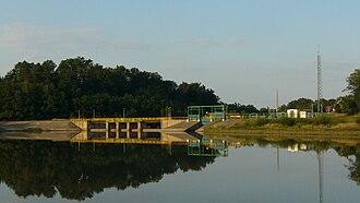 Osiecznica, Lower Silesian Voivodeship - Image: Elektrowania wodna na Kwisie w Osiecznicy