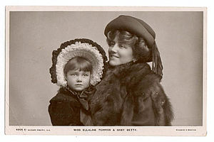 Ellaline Terriss - Terriss with daughter Betty