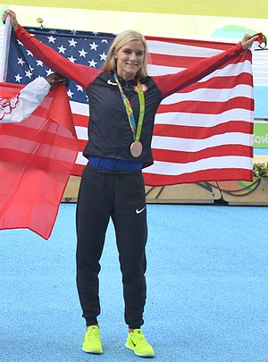 Emma Coburn - Coburn at the 2016 Olympic Games.