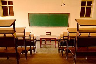 St. Xavier's College, Kolkata - College Classroom