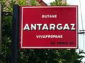 Enamel advertising sign Antargaz.JPG