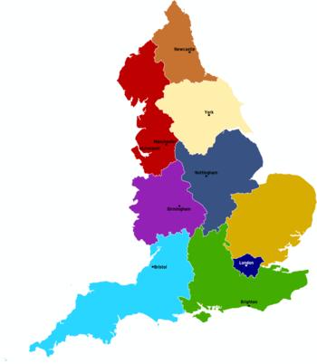 Mapa Politico Reino Unido Para Imprimir.Inglaterra Wikiviajes