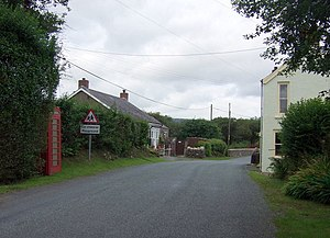 Entering Mynachlog-ddu - geograph.org.uk - 1452929.jpg