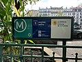 Entrée Station Métro St Mandé Square Anciens Combattants Afrique Nord - Saint-Mandé (FR94) - 2020-10-15 - 4.jpg