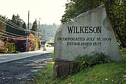 Wilkeson, Washington.
