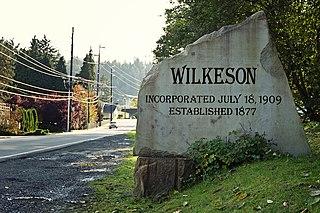 Wilkeson, Washington Town in Washington, United States