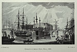 Entrance to Queen's dock, Hull (1829).jpg