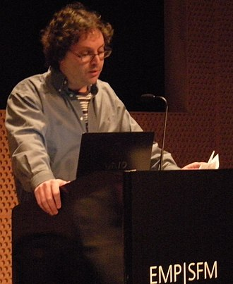 Eric Weisbard - Weisbard speaking at the 2008 Pop Conference