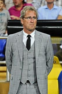 Erik Hamrén Swedish footballer and manager