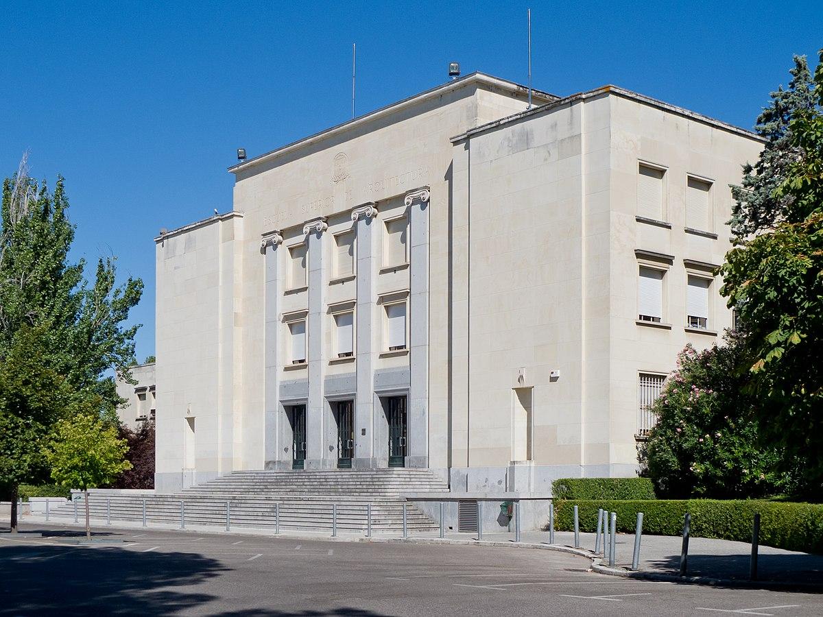 Escuela t cnica superior de arquitectura de madrid for Arquitectura de interiores universidades