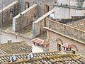 Església parroquial de la Santa Creu, vista des de el castell zoom contraforts.jpg