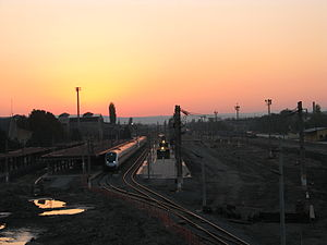 Eskişehir railway station - Reconstruction of the station in 2012