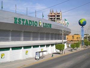 Estadio León - Image: Estadio Leon