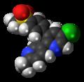 Etoricoxib molecule spacefill.png